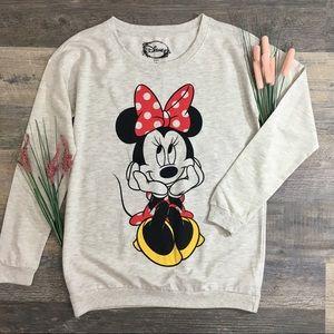NWT Disney Minnie Mouse Long Sleeve Sweater